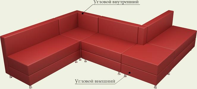 Угловой диван 4 Моск обл